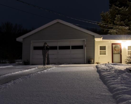 Winter Chore Nikon D5100, Nikkor 35mm f/1.8, 28s, f/8, ISO 400