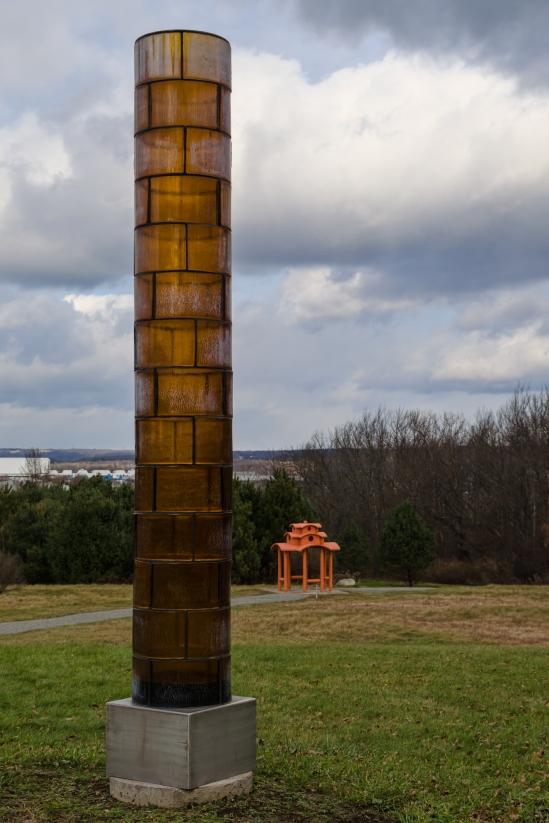 Amber Light Column & Pagoda Nikon D5100, Sigma 17-70mm f/2.8-4, 1/1000s, 35mm, f/5.6, ISO 200