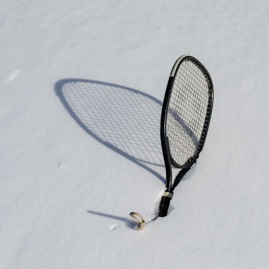 Snow Racquetball Nikon D5100, Sigma 17-70mm f/2.8-4, 1/400s, 32mm, f/8, ISO 100