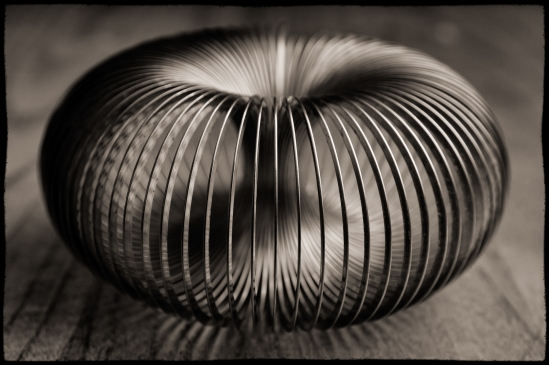Slinky Nikon D5100, Sigma 17-70mm f/2.8-4, 1/200s, 46mm, f/8, ISO 200, flash