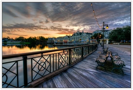 Boardwalk Morning Nikon D5100, Tokina 12-28mm f/4, {1/13, 1/6, 1/3, & 0.6s bracket}, 12mm, f/16, ISO 100