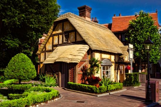 Painted England Twining Tea Cottage