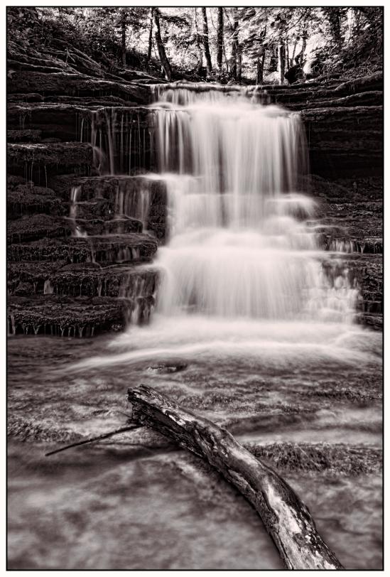 Little Pixley Falls Nikon D5100, Nikkor 24-85mm f/3.5-4.5, 2.5s, 26mm, f/6, ISO 100