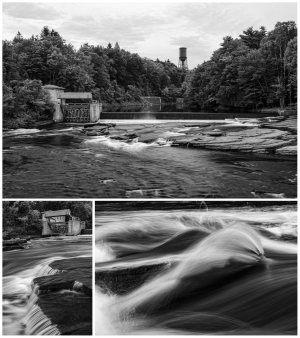 Morgan's Mill Dam on the West Canada Creek below Trenton Falls