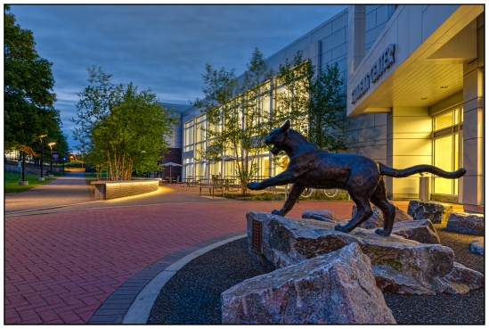 WildCat Student Center Nikon D5100, Sigma 17-70mm f/2.8-4, {8, 15, 30s bracket}, 17mm, f/11, ISO 100