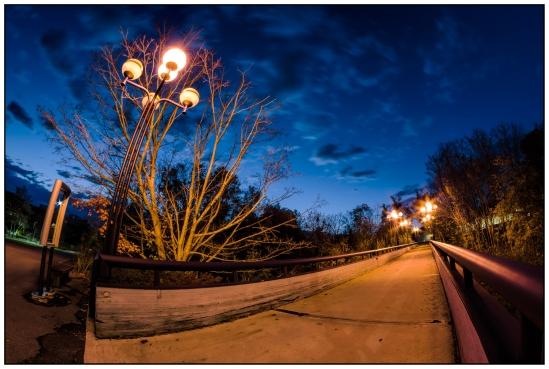 Escape the Night Nikon D5100, Rokinon 8mm f/3.5, 10s, f/11, ISO 100