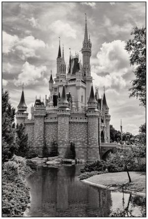 Cinderella Castle Nikon D5100, Nikkor 24-85mm f/3.5-4.5, 1/1000s, 24mm, f/8, ISO 400