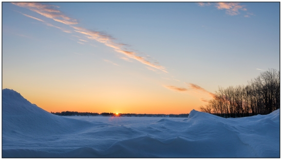 Sunset Snow Nikon D7100, Nikkor 24-85mm f/3.5-4.5, 1/50s, 24mm, f/11, ISO 100