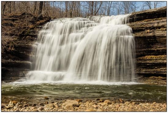 Pixley Falls - Main Falls Nikon D7100, Nikkor 24-85mm f/3.5-4.5, 1/5s, 24mm, f/16, ISO 100