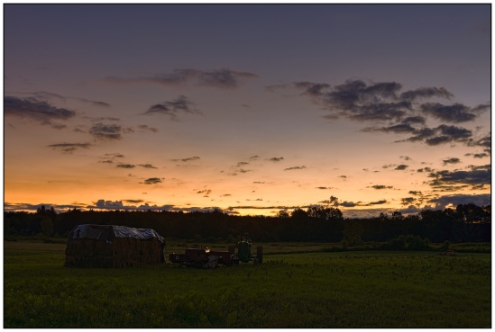 Morning on the Farm Nikon D7100, Sigma 17-70mm f/2.8-4, 15s, 26mm, f/11, ISO 200