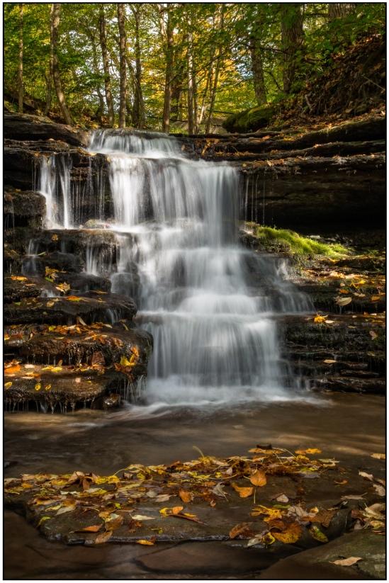 Autumn Color Falls Nikon D7100, Sigma 17-70mm f/2.8-4, 0.5s, 32mm, f/20, ISO 100