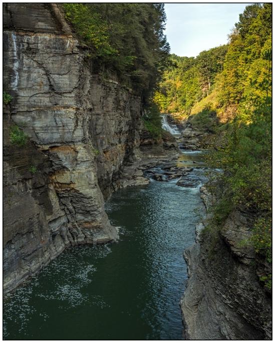 Lower Falls from Foot Bridge Nikon D7100, Tokina 12-28mm f/4, 1/13s, 28mm, f/16, ISO 100