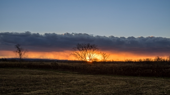 Storm Front Sunset
